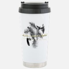 Covered in Feathers Travel Mug