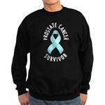 Prostate Cancer Survivor Sweatshirt (dark)
