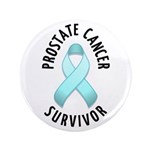 "Prostate Cancer Survivor 3.5"" Button (100 pack)"