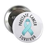 """Prostate Cancer Survivor 2.25"""" Button (100 pack)"""