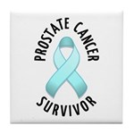Prostate Cancer Survivor Tile Coaster