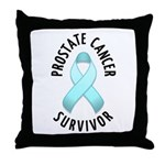 Prostate Cancer Survivor Throw Pillow