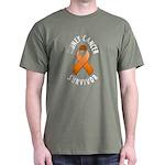 Kidney Cancer Survivor Dark T-Shirt