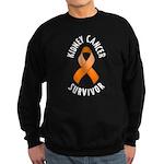 Kidney Cancer Survivor Sweatshirt (dark)