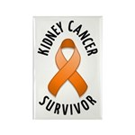 Kidney Cancer Survivor Rectangle Magnet (100 pack)