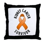 Kidney Cancer Survivor Throw Pillow
