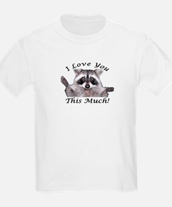 I Love you This Much 2 T-Shirt