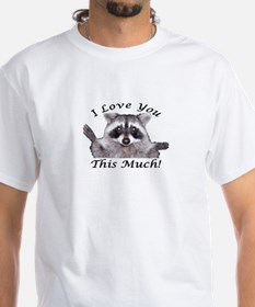 I love you this much t rex t shirts shirts tees for How much is a custom t shirt
