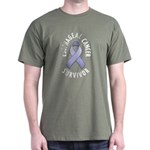 Esophageal Cancer Survivor Dark T-Shirt