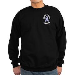 Esophageal Cancer Survivor Sweatshirt (dark)