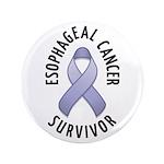 "Esophageal Cancer Survivor 3.5"" Button (100 pack)"