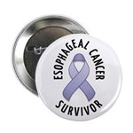 "Esophageal Cancer Survivor 2.25"" Button"