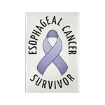 Esophageal Cancer Survivor Rectangle Magnet (10 pa