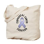 Esophageal Cancer Survivor Tote Bag