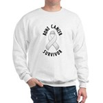 Bone Cancer Survivor Sweatshirt