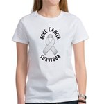 Bone Cancer Survivor Women's T-Shirt