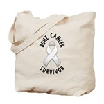Bone Cancer Survivor Tote Bag