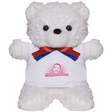 Pink Obamalicious Teddy Bear