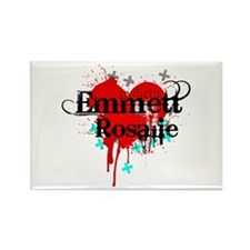 Emmett & Rosalie Rectangle Magnet