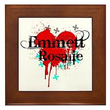Emmett & Rosalie Framed Tile