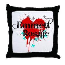 Emmett & Rosalie Throw Pillow