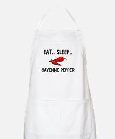 Eat ... Sleep ... CAYENNE PEPPER BBQ Apron