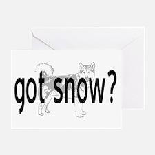 Got Snow? Greeting Cards (Pk of 10)
