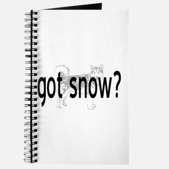 Got Snow? Journal