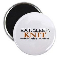 Eat Sleep Knit Magnet