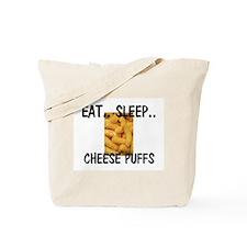 Eat ... Sleep ... CHEESE PUFFS Tote Bag