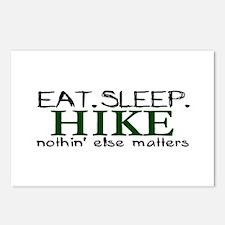 Eat Sleep Hike Postcards (Package of 8)