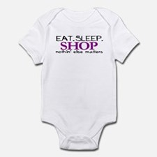 Eat Sleep Shop Infant Bodysuit