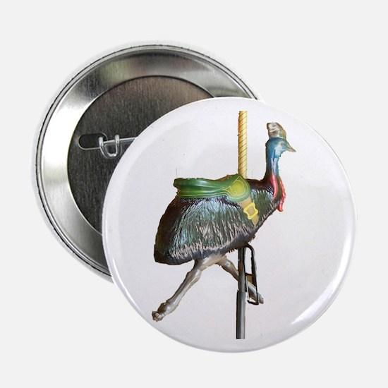 """carousel cassowary 2.25"""" Button (10 pack)"""