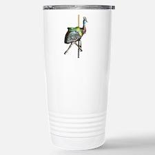 carousel cassowary Travel Mug