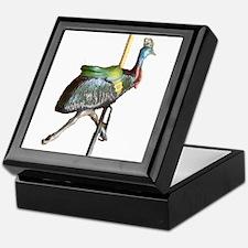 carousel cassowary Keepsake Box