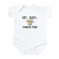 Eat ... Sleep ... CHINESE FOOD Infant Bodysuit