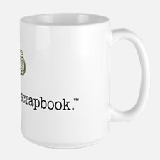 live. shoot. scrapbook. - Mug