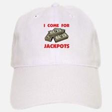 JACKPOTS TURN ME ON Baseball Baseball Cap