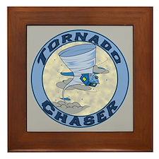 Tornado Chaser Framed Tile