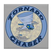 Tornado Chaser Tile Coaster