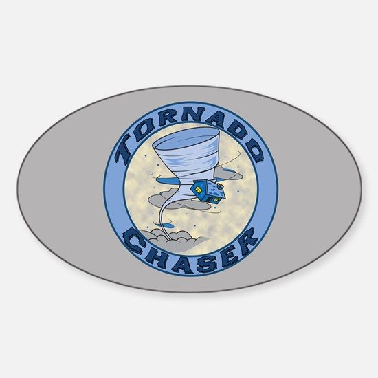 Tornado Chaser Oval Decal