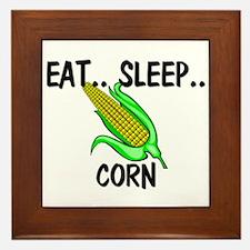 Eat ... Sleep ... CORN Framed Tile