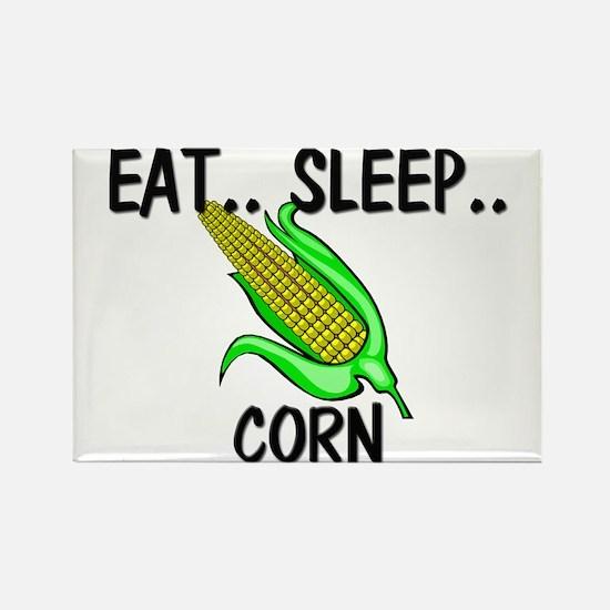 Eat ... Sleep ... CORN Rectangle Magnet