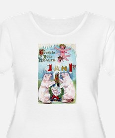 New Year's Day Women's Plus Size T-Shirt