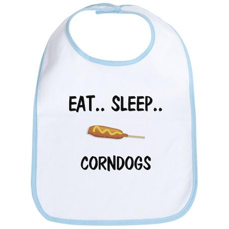 Eat ... Sleep ... CORNDOGS Bib