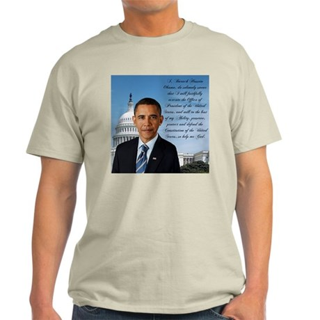Inaugural Oath Light T-Shirt