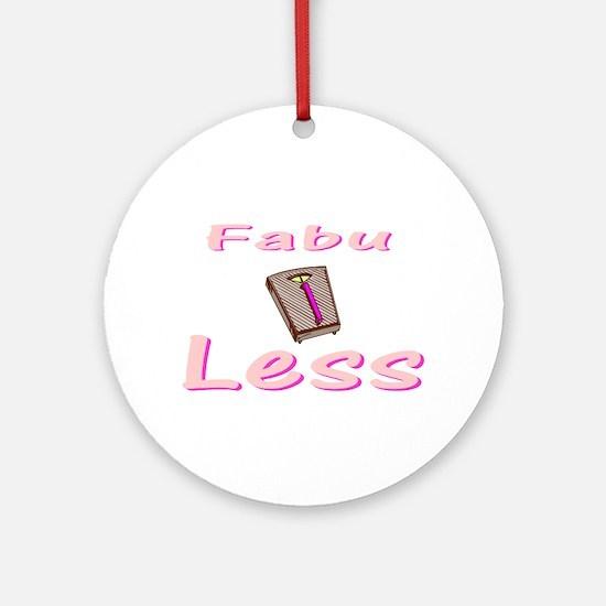 FabuLESS Ornament (Round)