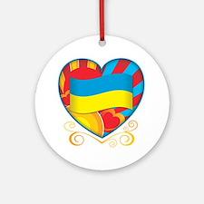 Ukrainian Ornament (Round)