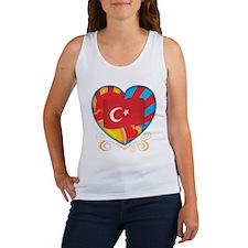 Turkish Heart Women's Tank Top