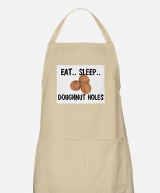 Eat ... Sleep ... DOUGHNUT HOLES BBQ Apron